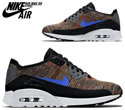 finest selection 83355 535ca Nike Air Max 90 Ultra 2.0 Flyknit Gr.42 Multicolor 881109-001 NEU NP159