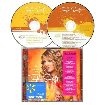 TAYLOR SWIFT Beautiful Eyes EXCLUSIVE CD+DVD SET Previously Unreleased I HEART ?