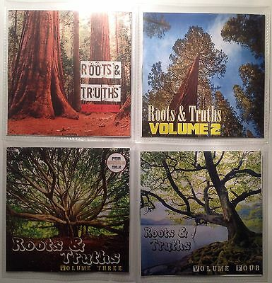 'ROOTS & TRUTHS' Volumes 1-4 JUMBO pack Roots Revival Reggae Collection x  4CDs