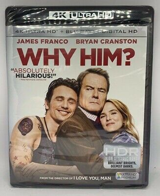 Why Him New 4K UHD Blu-ray 4K Mastering, Ac-3/Dolby Digital, Digitally Mastered