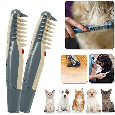 Scissor Trimmer Peine Cortanudos Electrico Perros Gatos Cuchillas Rotatorias