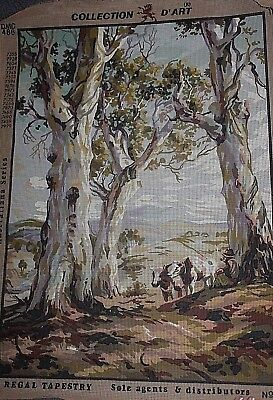NEW LARGE tapestry Canvas Regal Tapestries - AUSTRALIAN SERIES  Bush Scene