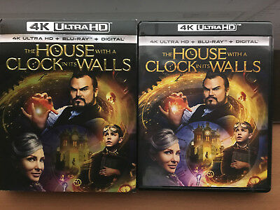 HOUSE WITH THE CLOCK IN IT'S WALLS (4K UHD + Bluray) No digital