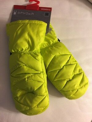 ec912b668 SPYDER WOMEN'S CANDY Down Ski Mitten | NEW | Sm, Med or Large ...