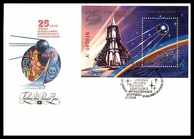Mayfairstamps Space 1982  Russia Space Souvenir Sheet Fdc JJX2991
