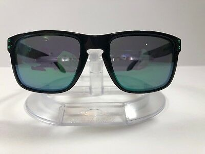 c2e601e2303 New Oakley Holbrook Sunglasses Jade Iridium Polarized  Scratched  OO9102-69