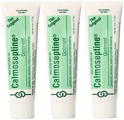 Calmoseptine Ointment 4 oz (3 Pack)