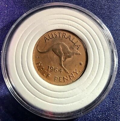 1964 HALF PENNY PRE DECIMAL AUSTRALIAN COIN  EF Grade Not Checked For Variety.