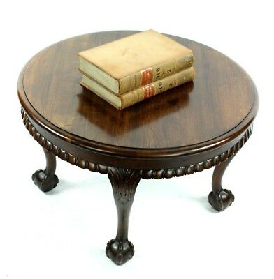 Vintage Chippendale Style Coffee Table with Ball and Claw Feet [PL4902]