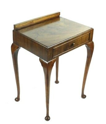 Antique Queen Anne Style Rosewood Hall Console Table - FREE Shipping [PL4903]