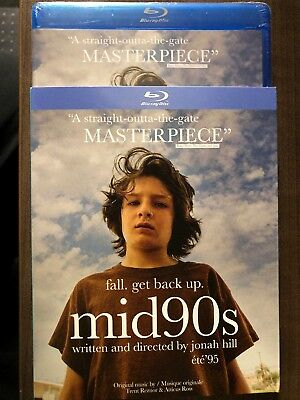 NEW Mid 90's Nineties Jonah Hill Blu Ray w Slip Cover Art Canada Sealed 2019