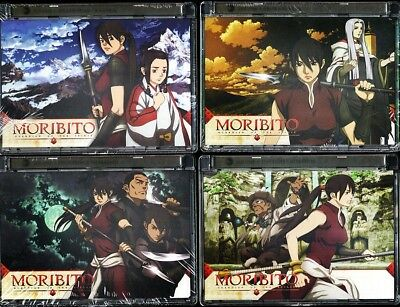Moribito Complete Dvd Anime Series 8 Sealed Volumes Free Shipping!