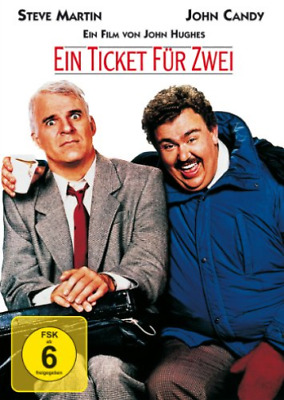 John Candy,Steve Martin-Ein Ticket Fur Zwei - (Ge (Uk Import) Dvd [Region 2] New