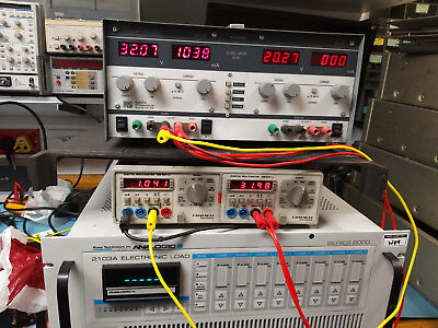Thurlby TTI PL310QMD Variable bench  power supply, twin channel 32V 1A quad mode