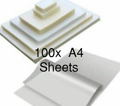 + Pavo Laminating Pouches A4 250 Micron Pack 100 Sheets Gloss Resistant 62,4