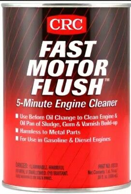CRC FAST MOTOR FLUSH 5-MINUTE ENGINE CLEANER 800ml