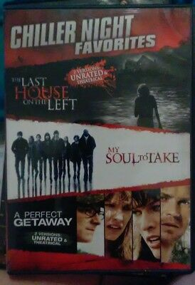 Chiller Night Favorites DVD