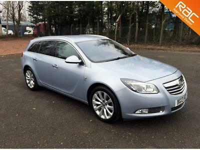 2013.13.vauxhall Insignia Elite.2.0.cdti.estate.silver.leather.sat-Nav.