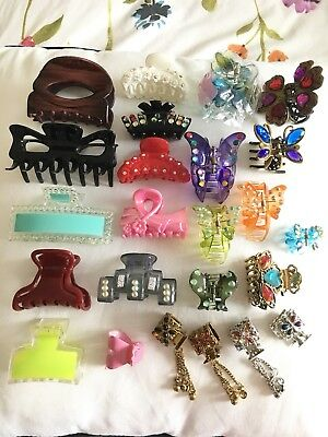 Girls Grips Hair Accessories Joblot Of 60 Packs and  12 Per Pack  Kids