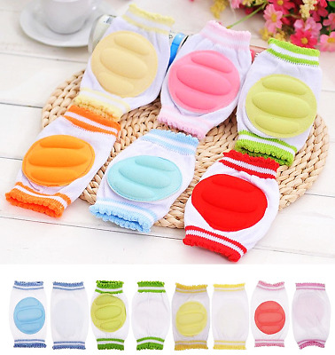 NEW Fashion Baby Crawling Knee Pads Safety Anti-slip Walking Leg Elbow Protector