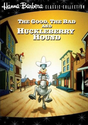 GOOD THE BAD & THE HUCKLEBE...-Good The Bad And The Huckleberry Hound, DVD NUOVO