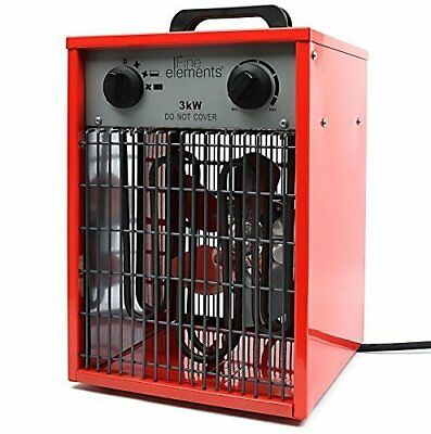 3KW INDUSTRIAL HEATER For Work / Warehouse [Energy Class A+++]