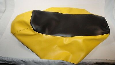 Ski-doo Mini Z 120 Youth Mini-Z Black / Yellow Seat Cover Fits 1998,1999,2000