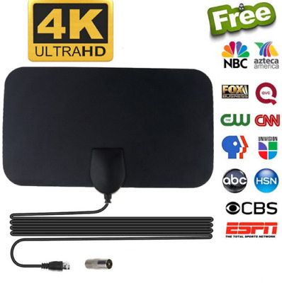 AMPLIFIED HD ANTENNA Free Channels Cut Cable Live TV OTA Wave