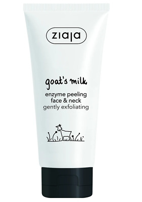 Ziaja Goat`s Milk Enzyme Peeling Scrub For Face And Neck