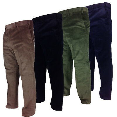 9c8aa291df5e Carabou Mens Thick Cord Trousers 100% Cotton Traditional Ribbed Corduroy  Pants
