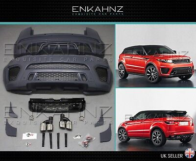 Range Rover Evoque Svr Style Bodykit Upgrade Kit 2011+  £1995 Painted & Fitted