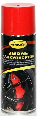 ASTROHIM Enamel for calipers, red, 520ml