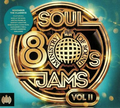 VARIOUS - 80s Soul Jams Vol 2 - CD (mixed 3xCD)