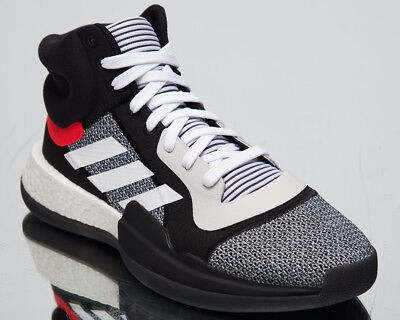 8f78bc67714 adidas Marquee Boost New Men s Basketball Shoes Footwear White Core Black  BB7822