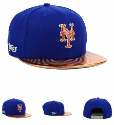 reputable site 1be09 5d3bc New York Mets New Era MLB Topps 2018 9FIFTY Snapback Cap Free Shipping 📦