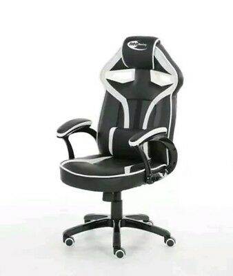 ^ Neo Media Morpheus Racing Gaming Office Chair, Adjustable, Faux Leather, 70:21