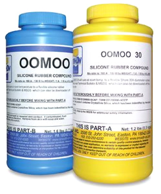 Smooth-On Silicone Mold Making, Liquid Rubber OOMOO 30, Easy to Use - Trial Siz