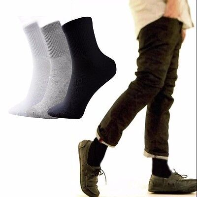 5 Pairs Men's Brand NEW Socks Winter Thermal Soft Cotton Sport Sock Casual