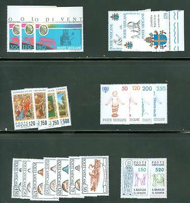 Vatican City 1979 Compete MNH Year Set