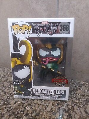 Venomized Loki Funko POP 🚨 EXCLUSIVE! 368