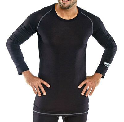 Base Layer Long Sleeve Vest Black