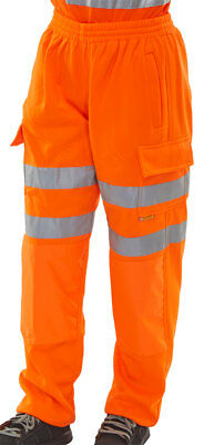 Hi Viz Jogging Bottoms Orange