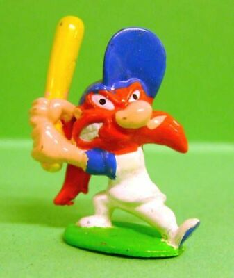 Looney Tunes - Mini Figurine PVC 1999 - Sam le Pirate Baseballeur