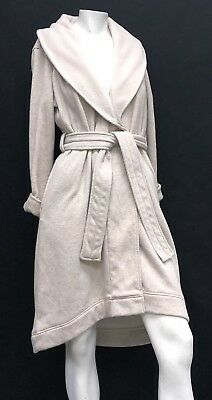 4f7c040d63 UGG Australia Duffield Robe Shawl Collar Oatmeal Heather UA4101W Spa  High-low
