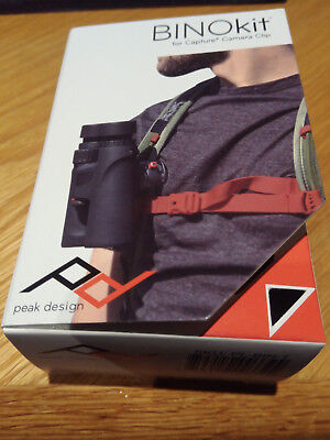 Peak Design BINO Kit for Capture Clip. Mount Binoculars on tripod, belt, or bag