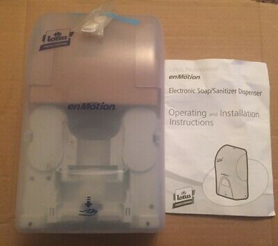New,Lotus Professional EnMotion Soap & Sanitizer Dispenser,Wall Mount, Screws