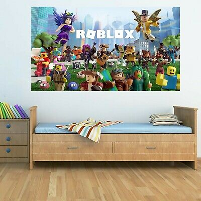 ROBLOX City Characters Wall Poster 115cm x 65cm PC Game 2019 Bedroom Art Kid's