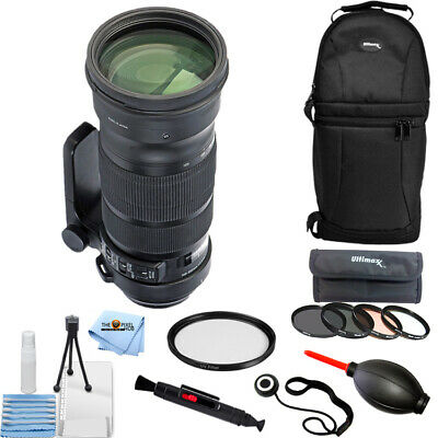 Sigma 120-300mm f/2.8 DG OS HSM Lens for Canon PRO BUNDLE BRAND NEW