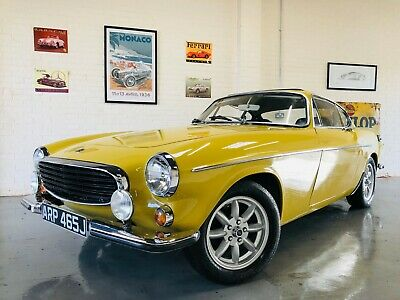 Volvo P1800E P1800 Coupe - Superb Condition - Harvest Gold - Stunning
