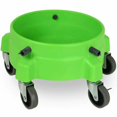 Liquid X Premium Car Care Bucket Dolly with Large Wheels